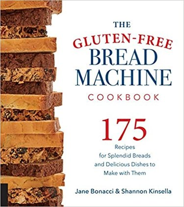 Cover art for The Gluten-Free Bread Machine Cookbook