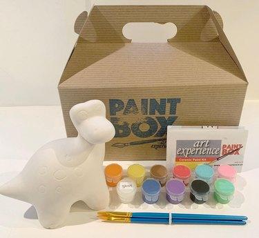 Ceramic Dinosaur Bank Kit
