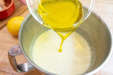 Lemon and oil