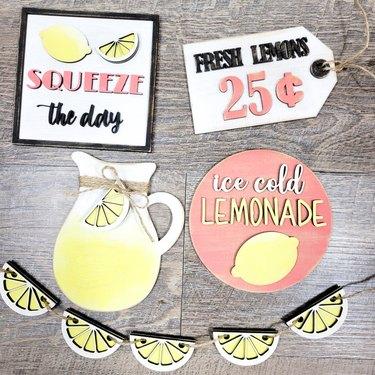Lemonade Summer DIY Paint Kit