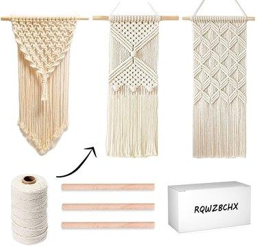3 DIY Macrame Kit