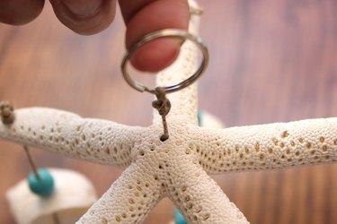 attach a key ring