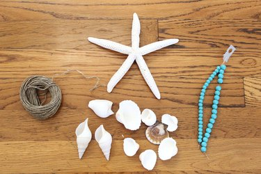 materials for seashell wind chime