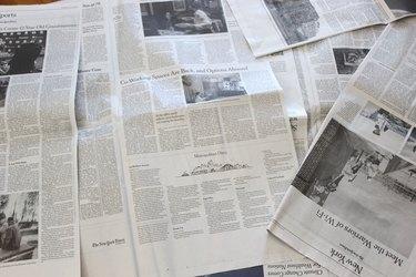 spread newspaper