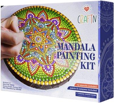 mandala painting kit