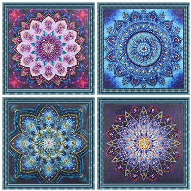 diamond painting mandala kits