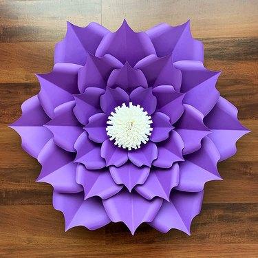 DIY Petal 5 Paper Flower Template Kit