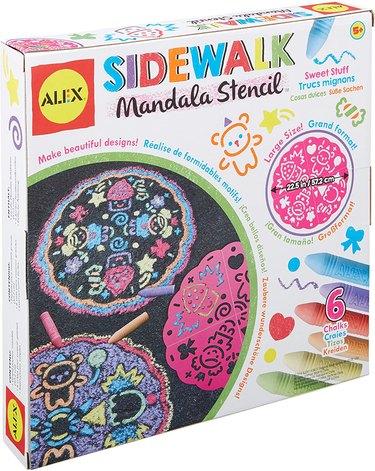 sidewalk mandala chalk art kit