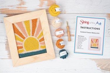 sunrise punch needle kit