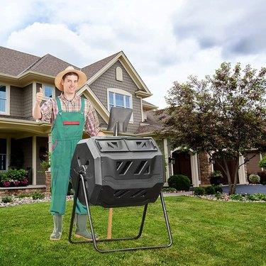 EJWOX Garden Compost Bin