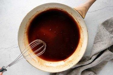 Whisk sauce