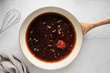 Combine sauce ingredients