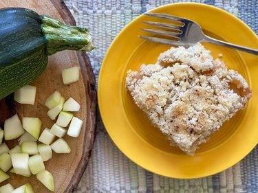 Homemade Zucchini Cobbler Recipe