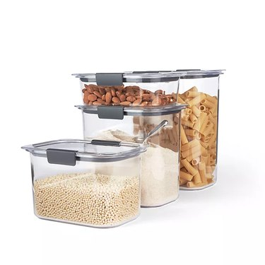 air tight dry food storage containers