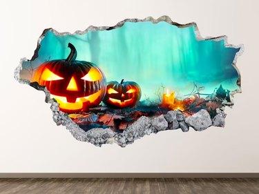Halloween Pumpkin Wall Decal by FanShopStop