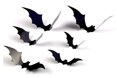 DIYASY 3D bat Halloween stickers