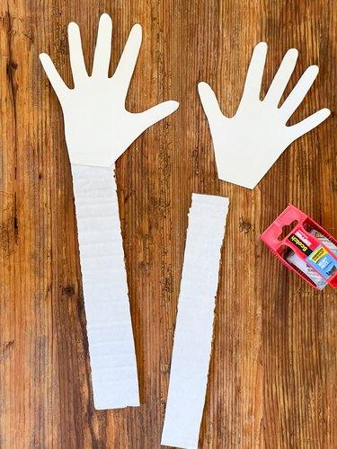 attach cardboard