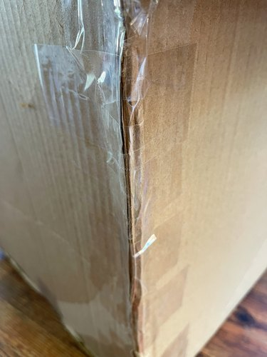 fold box and secure with tape