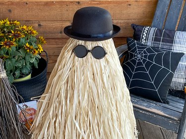 Finished close up of Cousin Itt