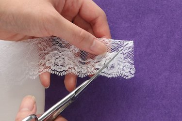 Fold and cut lace