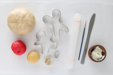 Ingredients for 'Us' themed cookies