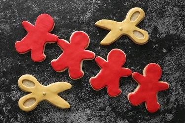 DIY 'Us' themed cookies
