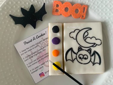 Paint Your Own Halloween Cookie Kit by MyBakeryClub