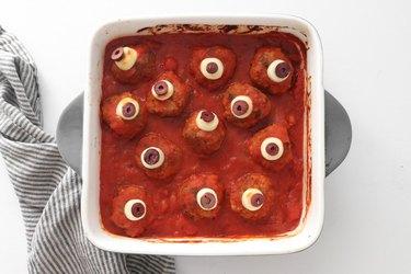 Add sliced olives
