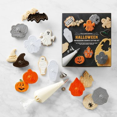 Halloween cookie cutters