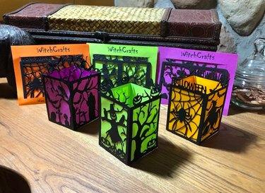 Paper Halloween Luminary Craft Kit by WitchNextDoorStore