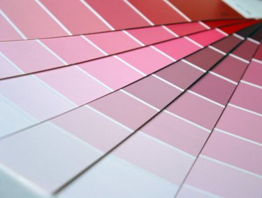 Pink Color Swatches