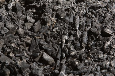 Burnt texture