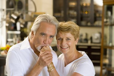 Portrait of middle-aged couple
