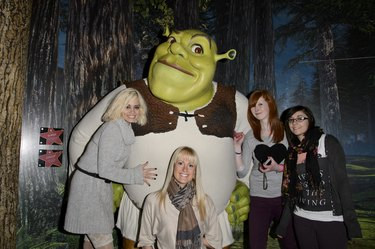 Kimberly Wyatt Meets Fans At Madame Tussauds