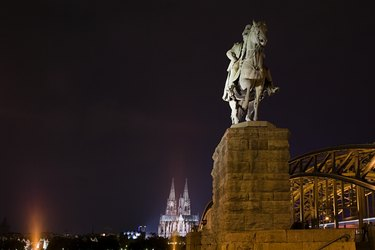 Statue of emperor wilhelm cologne