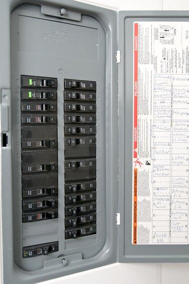 Open circuit breaker box