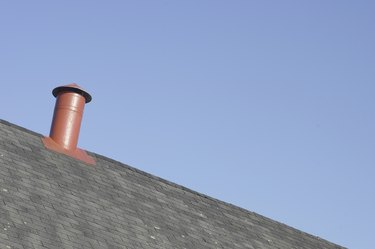 Vent on rooftop