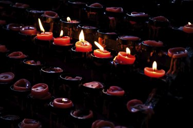 Candles in Basilica