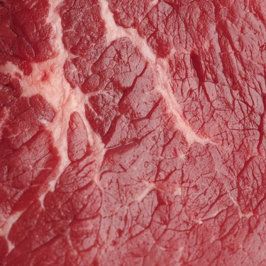 Close-up of red meat