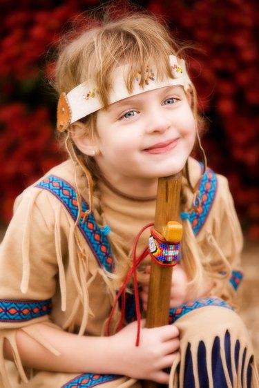 Playing Indian Girl