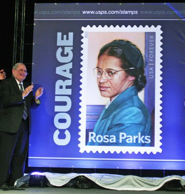 U.S. Postal Service Unveils Rosa Parks Commemorative Stamp