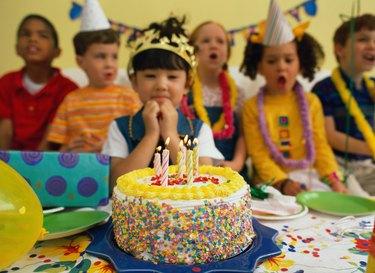 Children Singing Happy Birthday