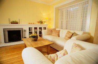 Yellow Living Room