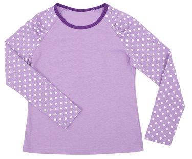 Women's child pink shirt.