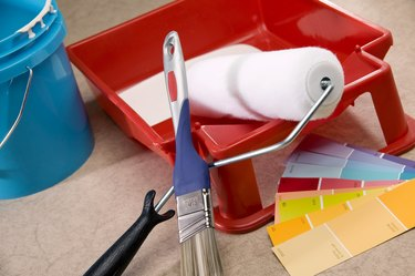 House painting supplies