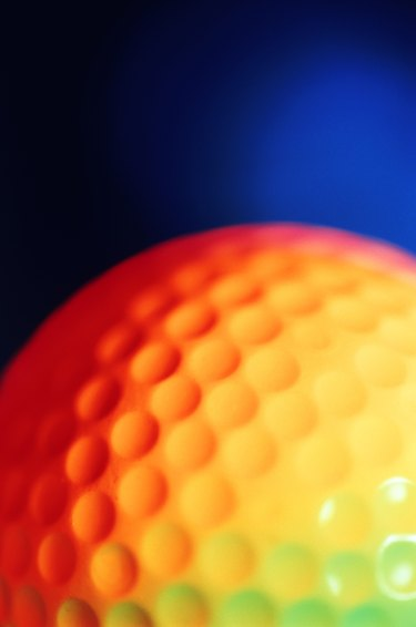 How to Make Indents in a Golf Ball Cake | eHow