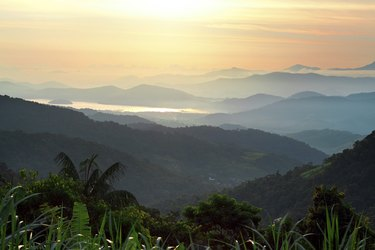 morning in mountains of Brazil