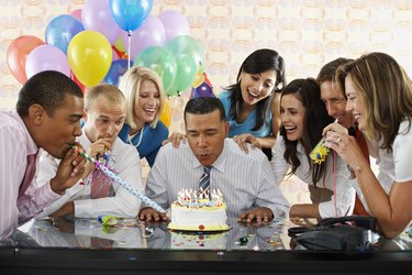Birthday Party in Office