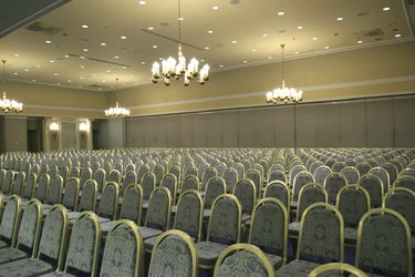 Luxurious conference room
