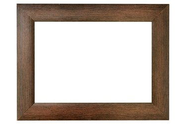 Simple wood frame